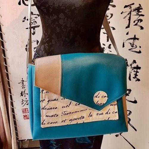 Makerist - sac besace - Créations de couture - 2
