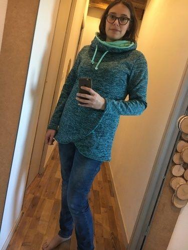 Makerist - Sweat-shirt Lana au maxi col - Créations de couture - 1