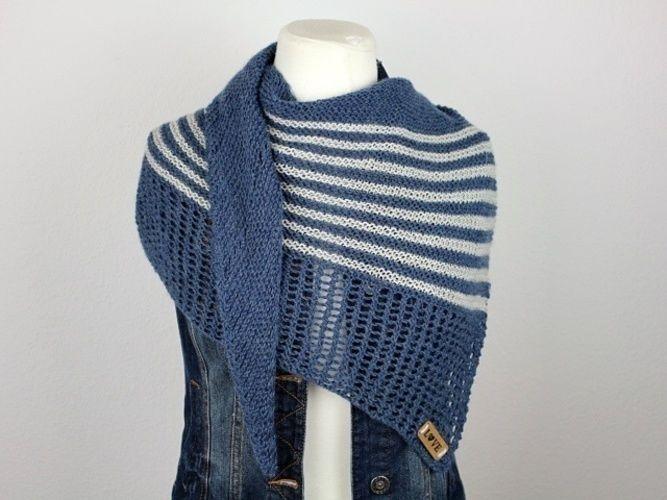 Makerist - Shawl Dito - Knitting Showcase - 3