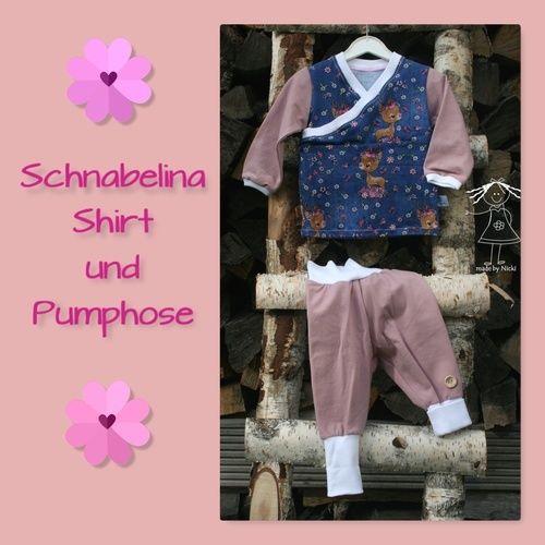 Makerist - Baby-Set aus Schnabelina-Shirt und Basic-Pumphose - Nähprojekte - 1