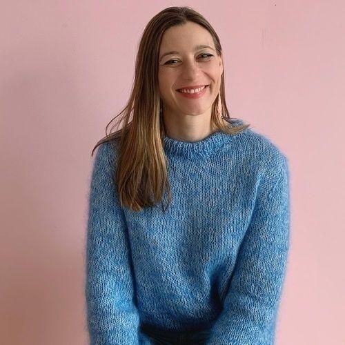 Makerist - Mohair Baumwolle Raglan von unten Pullover von SadnesGarne - Strickprojekte - 2