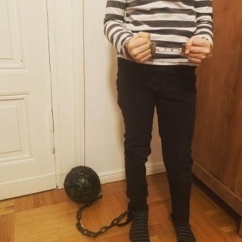 """Makerist - Kette aus FIMO fur gefangenen Kostum """"Ball & Chain"""" - DIY-Projekte - 1"""