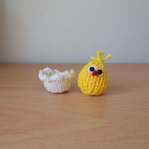 Makerist - Tiny Easter Chick - Knitting Showcase - 3