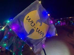 Fahrrad Fahne für Burning Man nr2