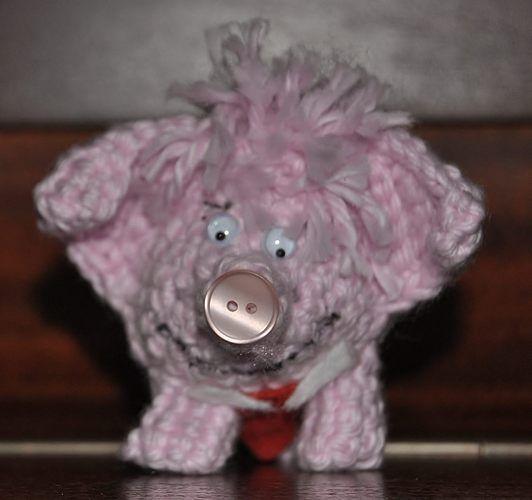 Makerist - Glückhäkelkollengenschwein in groß und klein - Häkelprojekte - 2