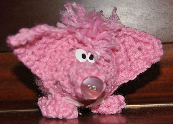 Makerist - Glückhäkelkollengenschwein in groß und klein - Häkelprojekte - 3