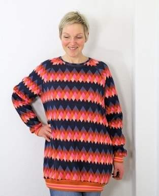 Oversize-Raglan-Sweater Kjella