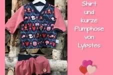 Makerist - Baby-Set aus Schnabelina-Shirt und kurzer Pumphose von Lybstes - 1