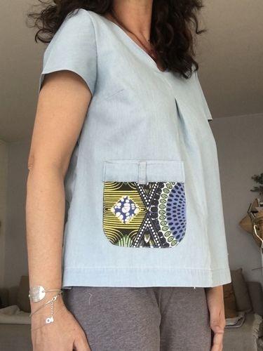 Makerist - Top recyclé  - Créations de couture - 1