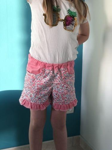 Makerist - Short  froufrou Pors Rolland  - Créations de couture - 1