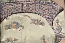 Makerist - Kuscheldecke Manolo für Babyschale  - 1