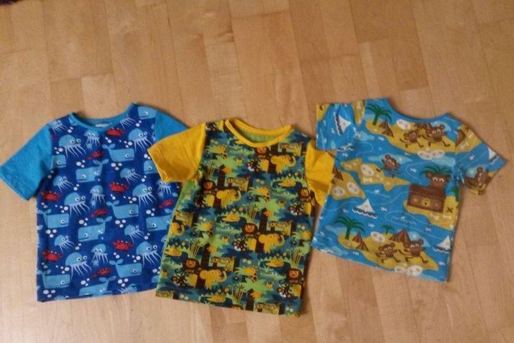 Makerist - T-Shirts für kleine Jungs - Nähprojekte - 1