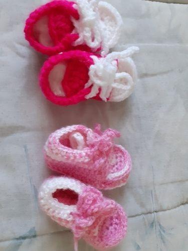 Makerist - chaussures (converses) pour bébé - Créations de tricot - 2