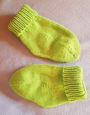 Makerist - Socken  mit Fixferse - 1