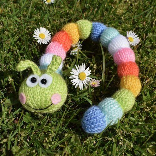 Makerist - Rainbow Caterpillar - Knitting Showcase - 2