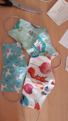 Makerist - Behelfsmaske aus Stoffresten - Nähprojekte - 1