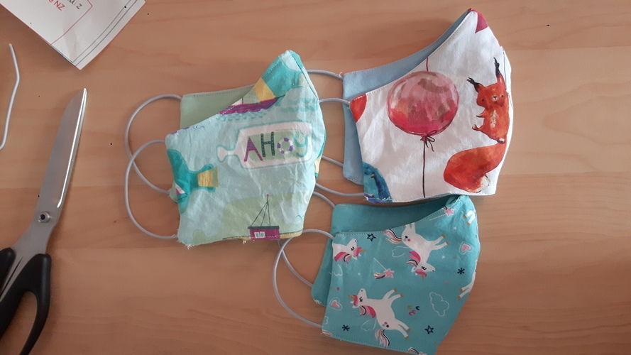Makerist - Behelfsmaske aus Stoffresten - Nähprojekte - 2