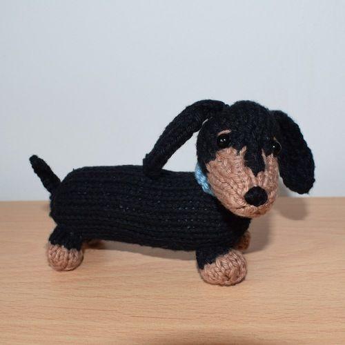 Makerist - Dachshund Puppy - Knitting Showcase - 1