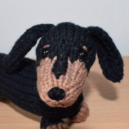 Makerist - Dachshund Puppy - Knitting Showcase - 3