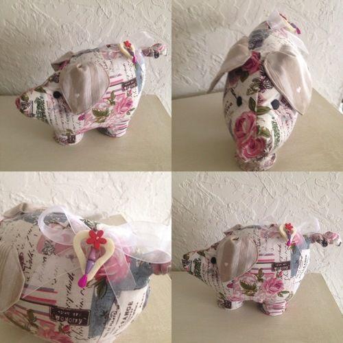 Makerist - Cochon calé porte - Créations de couture - 1