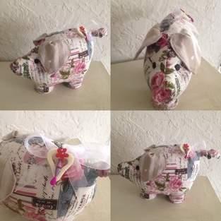 Makerist - Cochon calé porte - 1