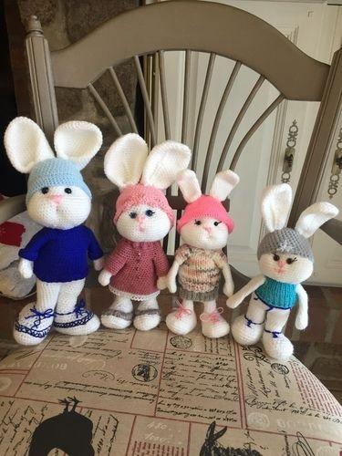 Makerist - La famille lapinou  - Créations de crochet - 1