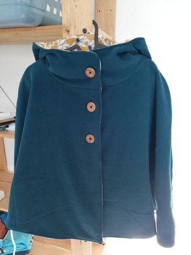Makerist - Ma cape à capuche enfin réalisée ! ❤️ - #makeristalamaison - 1