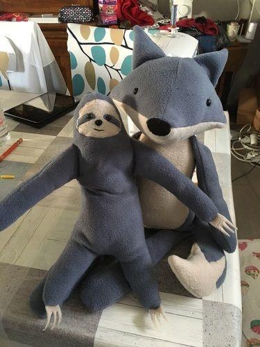 Makerist - Renard et son ami paresseux - Créations de couture - 1