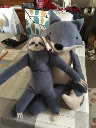 Makerist - Renard et son ami paresseux - 1