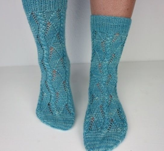 Makerist - Spring socks - Knitting Showcase - 3