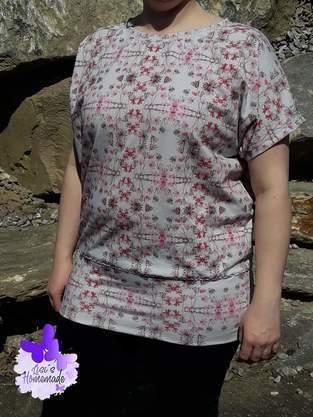 Makerist - Fledermausshirt Mia - 1