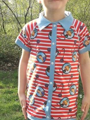 Makerist - Jerseyhemd Wickie - 1