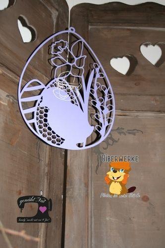 Makerist - Fensterbild Ostern von Biberwerke - DIY-Projekte - 1