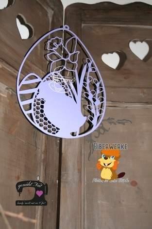 Makerist - Fensterbild Ostern von Biberwerke - 1