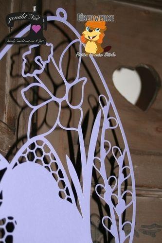 Makerist - Fensterbild Ostern von Biberwerke - DIY-Projekte - 2