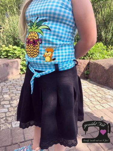 Makerist - Plottdatei Ananas mit Brille von Biberwerke - Textilgestaltung - 1