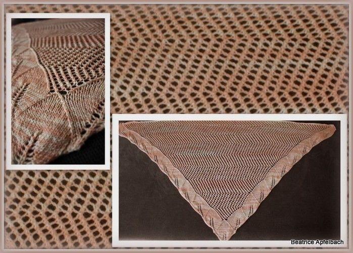 """Makerist - Tuch """"Demeter"""" aus solargefärbter Wolle - Strickprojekte - 2"""