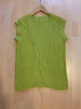 Makerist - Baumwoll-Weste in grün - 1