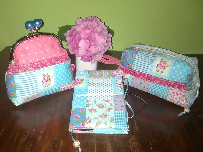 "Makerist - Geschenkset ""Petit Fleur"" - Nähprojekte - 1"