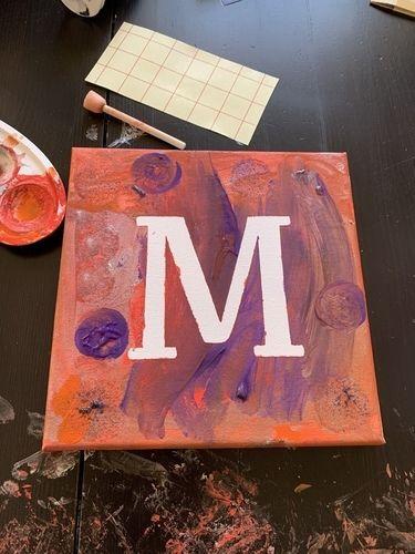 Makerist - Buchstaben-Bilder - DIY für Kinder - 1
