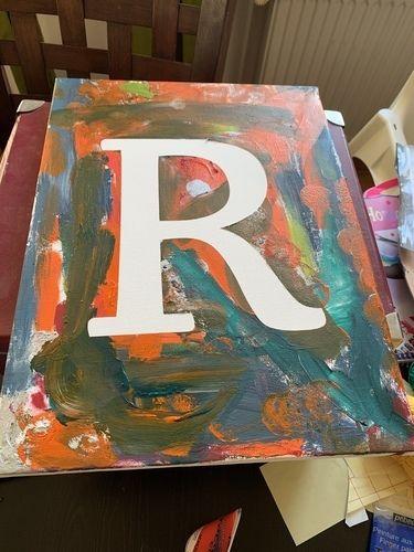 Makerist - Buchstaben-Bilder - DIY für Kinder - 2