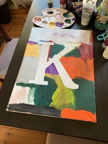 Makerist - Buchstaben-Bilder - DIY für Kinder - 3