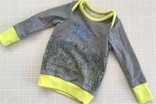 Makerist - Shirt Liam als Resteverwertung - 1