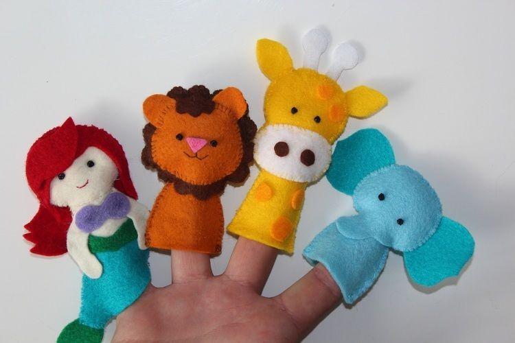 Makerist - Finger Püppies - Nähprojekte - 1