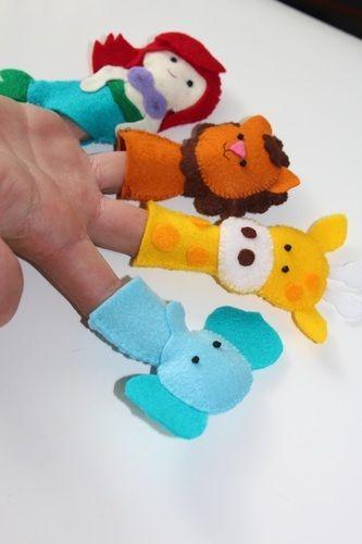 Makerist - Finger Püppies - Nähprojekte - 2
