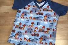 Makerist - Raglan(t)ino für einen kleinen Feuerwehrmann 👨🚒  - 1