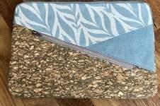 Makerist - Kuoria Laptoptasche aus Canvas und Kork - 1