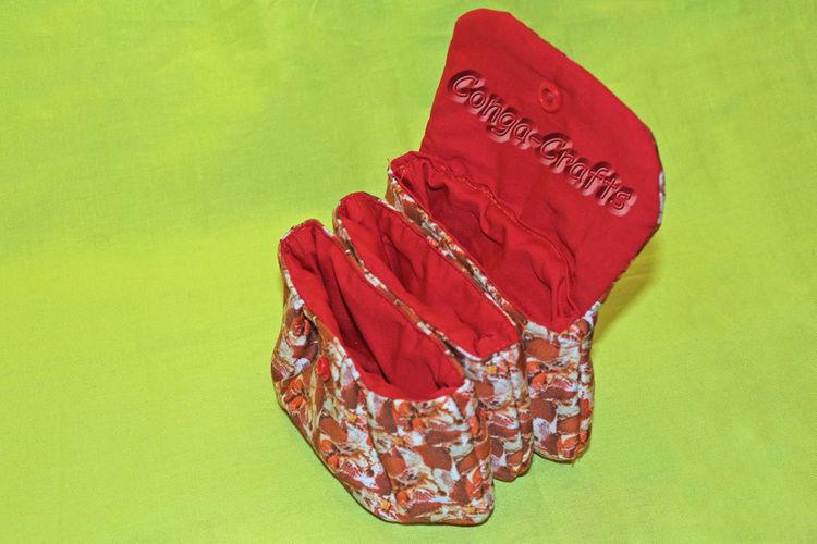 Makerist - Dreifächer-Tasche / Taschen-Tasche - Nähprojekte - 1