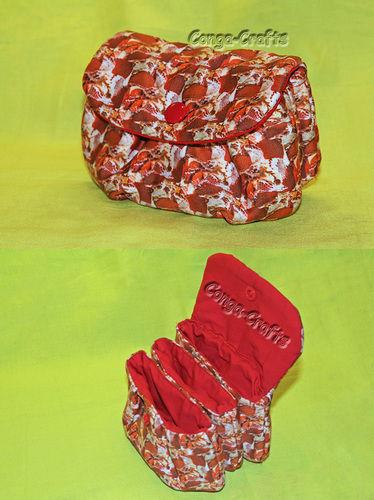 Makerist - Dreifächer-Tasche / Taschen-Tasche - Nähprojekte - 3