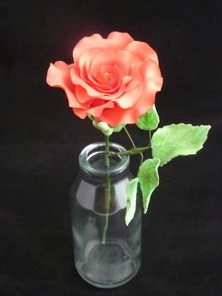 Makerist - Rose aus Blütenpaste - 1